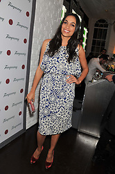 ROSARIO DAWSON at the opening of the 'pop up' Tanqueray Gin Palace hosted by Idris Elba at 13 Floral Street, Covent Garden, London on 26th March 2013.