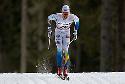 13.12.2014, Davos, SUI, FIS Langlauf Weltcup, Davos, 15 km, Herren, im Bild Marcus Hellner (SWE) // during Cross Country, 15km, men at FIS Nordic world cup in Davos, Switzerland on 2014/12/13. EXPA Pictures © 2014, PhotoCredit: EXPA/ Freshfocus/ Christian Pfander<br /> <br /> *****ATTENTION - for AUT, SLO, CRO, SRB, BIH, MAZ only*****