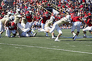 RICHIE WARFIELD RUSHES FOR 3 TDS AS DAYTON ROLLS TO 53-20 WIN OVER VALPO