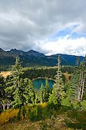 Sunrise Lake at Sunrise Point in Mount Rainier National Park