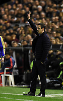 Valencia's  coach Gary Neville  during La Liga match. January 3, 2016. (ALTERPHOTOS/Javier Comos)