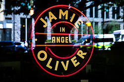 © Licensed to London News Pictures. 21/05/2019. London, UK. Jamie's Italian in Islington, north London as Jamie Oliver's chain restaurants goes into administration leaving more than 1,000 jobs at risk. Photo credit: Dinendra Haria/LNP