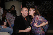 Julian Macdonald Julian Macdonald after show party. Umbaba. 15-21 Ganton St. London. 13 February 2005. ONE TIME USE ONLY - DO NOT ARCHIVE  © Copyright Photograph by Dafydd Jones 66 Stockwell Park Rd. London SW9 0DA Tel 020 7733 0108 www.dafjones.com