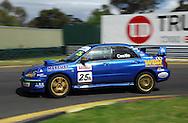 Lee Castle - 2003 Subaru STI.Motorsport/2008 Shannons Nationals.Australian Manufacturers Championship .Sandown International Raceway, Melbourne, Victoria.29th November 2008.(C) Joel Strickland Photographics.