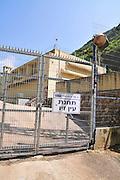 Israel, Western Galilee, Wadi Kziv Nature Reserve Ein Ziv pumping station.
