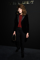 Flora Fischbach attends the Saint Laurent show as part of the Paris Fashion Week Womenswear Fall/Winter 2019/2020 on February 26, 2019 in Paris, France. Photo by Laurent Zabulon/ABACAPRESS.COM