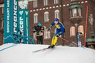 ÖSTERSUND 20200221<br />  Bilder från  fredagens citysprint i Nordiska Ungdomsspelen 2020. <br /> <br /> Foto: Per Danielsson/Projekt.P