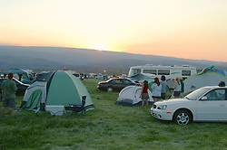 Sunset, The Gorge Campground