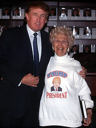 Jan 05, 2000; New York, New York, USA; Donald Trump Promotes His New Book''The America We Deserve'' at the Trump Tower Lobby.  (Credit Image: © Nancy Kaszerman/ZUMAPRESS.com)