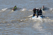 Putney, Great Britain, 17th March 2019, Pre Boat Race Fixture, Oxford University Boat Club vs Oxford Brookes, Championship Course, River Thames,   England, [Mandatory Credit; Peter Spurrier/Intersport-images],