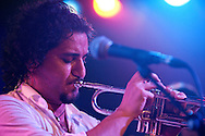 Boban and Marko Markovic Orchestra, performing live at the Scala, London, UK (19 January 2014) © Rudolf Abraham