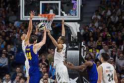 February 17, 2019 - Madrid, Madrid, Spain - Ante Tomic during FC Barcelona Lassa victory over Real Madrid (93 - 94) in Copa del Rey 2019 game (final) celebrated in Madrid (Spain) at Wizink Center. February 17th 2019. (Credit Image: © Juan Carlos Garcia Mate/Pacific Press via ZUMA Wire)