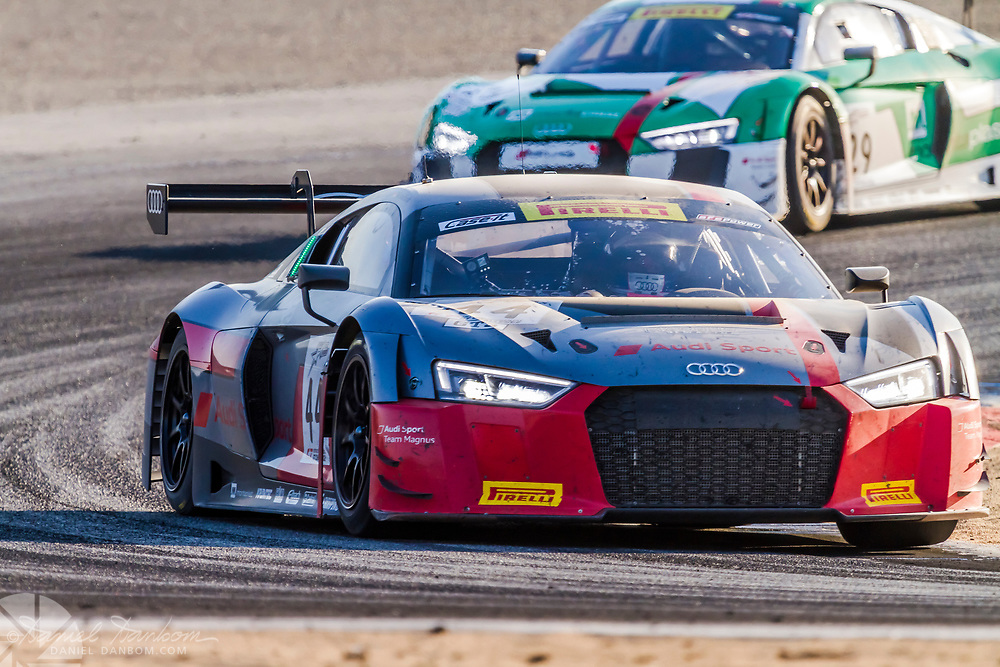 1st and 2nd, nearing the end of the 8 hour endurance race at Mazda Laguna Raceway, Monterey Peninsula, California