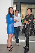 PILAR ORDOVAS; JUAN BALL; TATIANA SIELECKI, Pilar Ordovas hosts a Summer Party in celebration of Calder in India, Ordovas, 25 Savile Row, London 20 June 2012