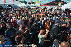 """The Lobster Pound """"Roadhouse"""" venue during Laconia Motorcycle Week. Laconia, NH, USA. June 18, 2014.  Photography ©2014 Michael Lichter."""