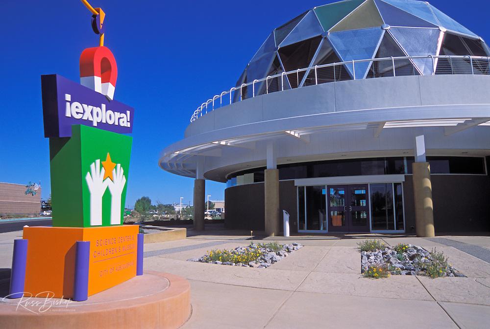 Explora Science Center and Children's Museum, Albuquerque, New Mexico