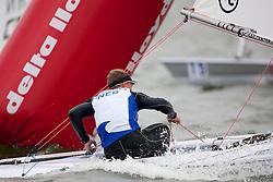 Roelof Bouwmeester, Laser, Medal races, May 29th, Delta Lloyd Regatta in Medemblik, The Netherlands (26/30 May 2011).