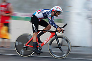 Joey Rosskopf (USA - BMC) during the UCI World Tour, Tour of Spain (Vuelta) 2018, Stage 1, individual time trial, Malaga - Malaga (8km) in Spain, on August 26th, 2018 - Photo Luis Angel Gomez / BettiniPhoto / ProSportsImages / DPPI