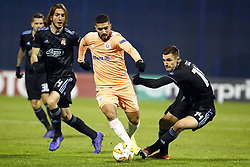 December 13, 2018 - Zagreb, Croatia - ZAGREB, CROATIA - DECEMBER 13 : Zakaria Bakkali midfielder of Anderlecht  pictured during the Europa League Group Stage - Group D match between Dinamo Zagreb and Rsc Anderlecht on december 13, 2018 in Zagreb, Croatia, 13/12/2018 (Credit Image: © Panoramic via ZUMA Press)