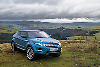 Range Rover Evoque 9-Gear Automatic put through it's off road paces climbing a mountain in Wales.<br />