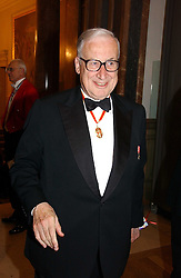 SIR JAMES BUTLER at The Royal Academy dinner before the official opening of the Summer Exhibition held at the Royal Academy of Art, Burlington House, Piccadilly, London W1 on 6th June 2006.<br /><br />NON EXCLUSIVE - WORLD RIGHTS