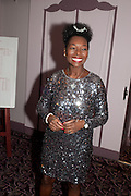 BARONESS FLOELLA BENJAMIN,  House of Lords and House of Commons Parliamentary Palace of Varieties in aid of Macmillan Cancer Support. <br /> Park Lane Hotel, Piccadilly, London, 7 March 2012.
