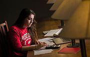 UW student. (Photo © Andy Manis)