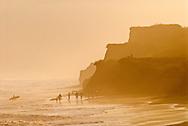Montauk Cliffs, Ocean, New York, Long Island