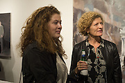 EVIE PRICHARD; MARY ANN SIEGHART, Behind the Silence. private view  an exhibition of work by Paul Benney and Simon Edmondson. Serena Morton's Gallery, Ladbroke Grove, W10.  4 November 2015.