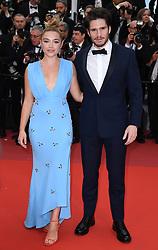 Florence Pugh and Francois Civil attending the La Belle Epoque Premiere, during the 72nd Cannes Film Festival. Photo credit should read: Doug Peters/EMPICS