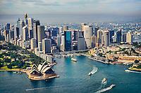 Sydney City Centre featuring Sydney Cove & Circular Quay