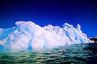 Iceberg, Columbia Bay, Prince William Sound, near Valdez, Alaska USA