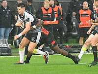 Rugby Union - 2019 / 2020 Guinness Pro14 - Ospreys vs. Southern Kings<br /> <br /> Tiaan Thomas-Wheeler of Ospreys attacks, at The Liberty Stadium.<br /> <br /> COLORSPORT/WINSTON BYNORTH