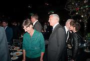 SADIE COLES; LARRY GAGOSIAN, Damien Hirst, Tate Modern: dinner. 2 April 2012.
