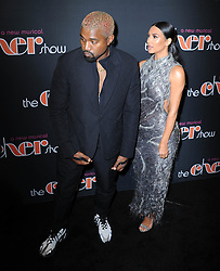 """Kanye West and Kim Kardashian at """"The Cher Show"""" Broadway Opening Night in New York City."""