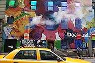 New York Midtown Herald Square area, street life.
