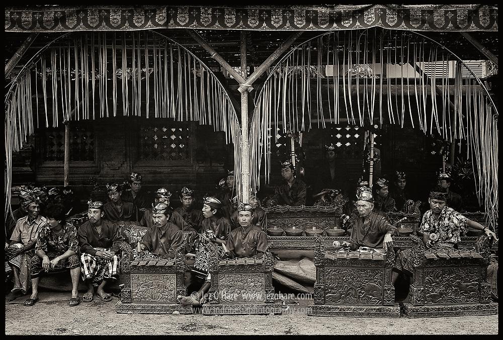 Gamelan orchestra, Bali, Indonesia.