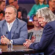 NLD/Hilversum/20171215 - Dick Advocaat te gast bij Voetbal Inside, Dick Advocaat en Johan Derksen