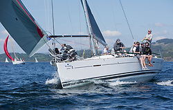 Silvers Marine Scottish Series 2017<br /> Tarbert Loch Fyne - Sailing<br /> <br /> GBR4041R, Forty Licks, Jay Colville, East Down YC, First 40