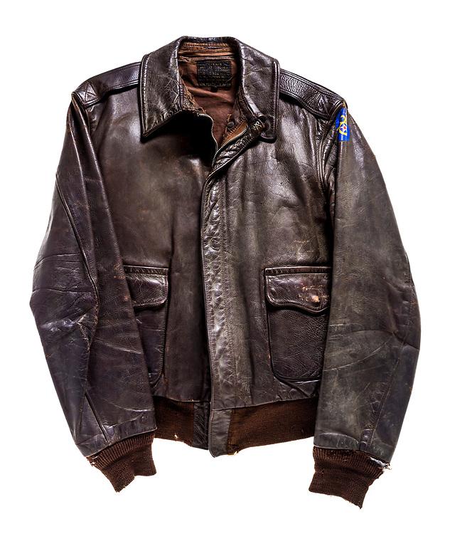 "Kenneth D. Williams,  351st BG. Captured wearing the ""Murder, Inc."" jacket."
