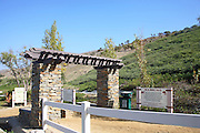 Entrance to Ridgeline Trail in Forester Ranch Community San Clemente