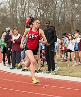St Paul's School varsity Track.  ©2019 Karen Bobotas Photographer