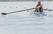 2005, World Rowing Championships, Nagaragawa International Regatta Course, Gifu, JAPAN: Monday  29.08.2005. USA M2- Bow - Matthew Schnobrich and Patrick O'Sunne.  © Peter Spurrier/Intersport Images - email images@intersport-images.com