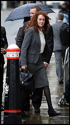 Rebekah Brooks arrives at the The Old Bailey, London, United Kingdom, for the Phone Hacking Trial.  Thursday, 31st October 2013. Picture by Andrew Parsons / i-Images