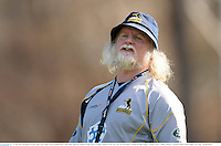 16 June 2013; Brumbies forwards coach Laurie Fisher during training ahead of their game against the British & Irish Lions on Tuesday. British & Irish Lions Tour 2013, Brumbies Training, Brumbies Rugby Training Centre, Griffith, Canberra, Australia. Picture credit: Stephen McCarthy / SPORTSFILE