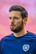 Craig Gordon (#1) of Heart of Midlothian FC during the warm up before the SPFL Championship match between Heart of Midlothian and Inverness CT at Tynecastle Park, Edinburgh Scotland on 24 April 2021.