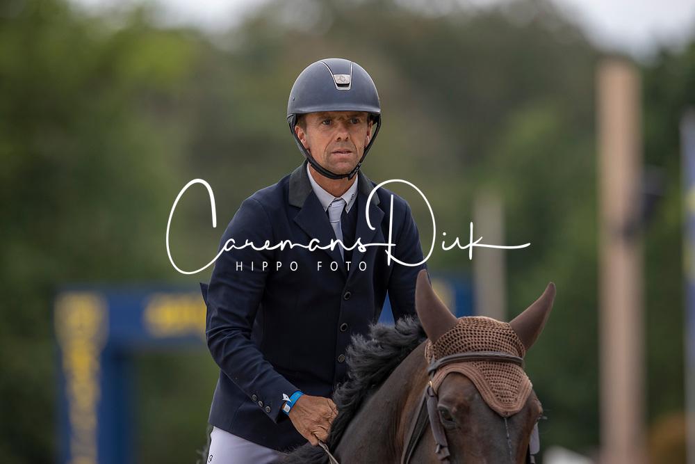 Vermeir Wilm, BEL, IQ van het Steentje<br /> Belgisch Kampioenschap Jumping  <br /> Lanaken 2020<br /> © Hippo Foto - Dirk Caremans<br /> 03/09/2020