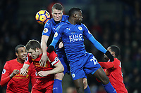Football - 2016 / 2017 Premier League - Leicester City vs. Liverpool<br /> <br /> Robert Huth of Leicester City during the match at The King Power Stadium.<br /> <br /> COLORSPORT/LYNNE CAMERON