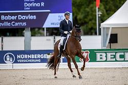 Baber Davies Luke, GBR, Vaudeville Carrus<br /> World Championship Young Horses Verden 2021<br /> © Hippo Foto - Dirk Caremans<br /> 26/08/2021