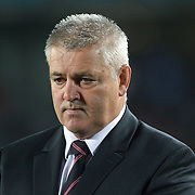 Welsh Coach Warren Gatland during the Australia V Wales Bronze Final match at the IRB Rugby World Cup tournament, Auckland, New Zealand. 21st October 2011. Photo Tim Clayton...